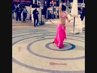 Dancing in eilat