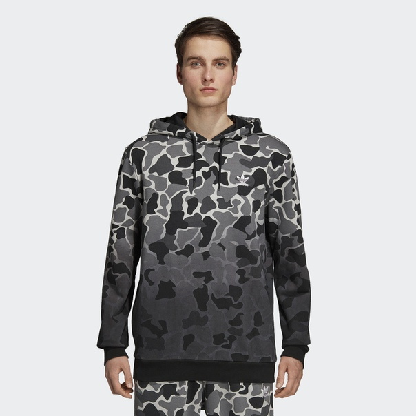 Худи Camouflage Dip-Dyed