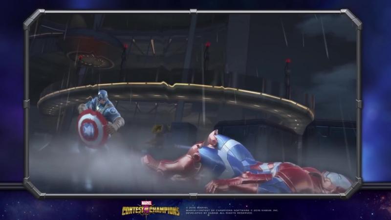 WWII Captain America Капитан Америка (Мировая Война 2) | Marvel Contest of Champions
