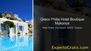 Greco Philia Hotel Boutique Mykonos, Elia Beach, Greece