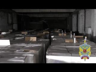 Более 80 тысяч бутылок паленого алкоголя нашли в Ступино и Коломенском округе