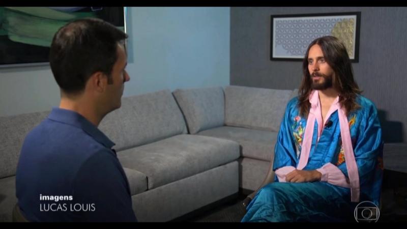 30 Seconds To Mars concede entrevista para o Fantástico