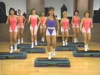 Cathe Friedrich's Mega Step Blast аэробика, шейпинг, фитнес