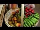 Корзина с фруктами и овощами!