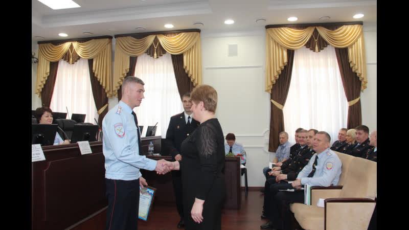 Начальник УМВД наградил неравнодушных граждан