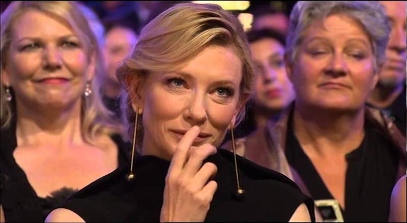 Cate Blanchett receives the AACTA Longford Lyell Award - Full Version