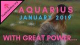 AQUARIUS Rediscovering Your Power But Beware JANUARY 2019 RJ Marmol Tarot