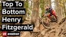 Riding Downhill In Squamish Top To Bottom Lap With Henry Fitzgerald