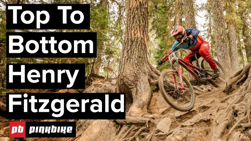 Riding Downhill In Squamish Top To Bottom Lap With Henry Fitzgerald смотреть онлайн без регистрации