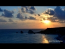 Sunset timelapse over the birth of Aphrodite