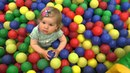 ✿ VLOG Детский Центр Indoor Playground Family Fun for Kids Indoor Play Area Playroom with Balls