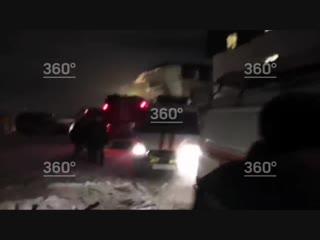Взрыв дома в Красноярске, первые видео с места взрыва бытового газа