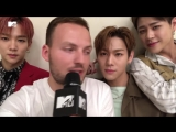 Новости на MTV Россия группа  IMFACT на FEEL KOREA в Москве