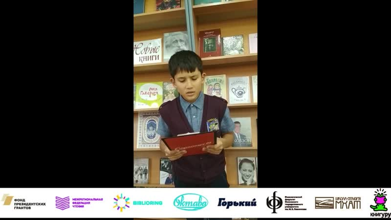 Гайбуллаев Илья_Школа №95_г. Железногорск