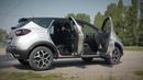 Накладки на внутренние пороги дверей Renault Kaptur (russ-artel)