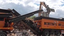 New Doppstadt 3060 F Type Feeding HS 800 star screen and BlueMAC AMS sorting wood waste