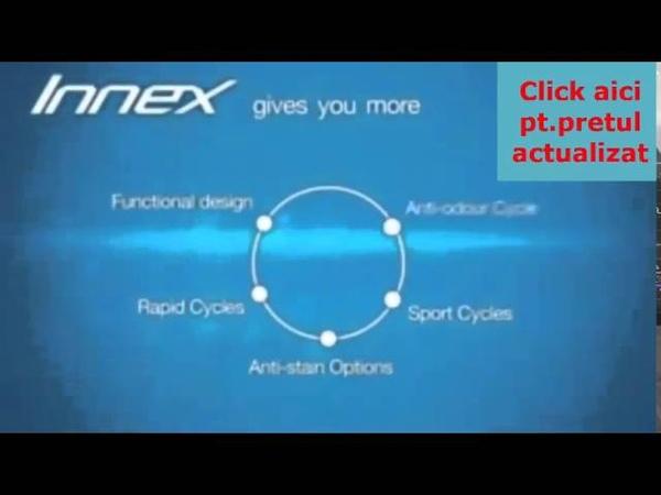 Masina de spalat rufe Innex Indesit XWSA 61253 W