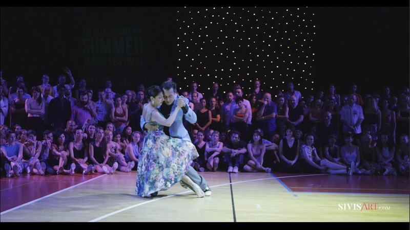 Mariano Chicho Frumboli Moira Castellano - Danzarin - Tango exhibition by SivisArt