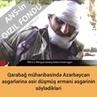 Плененный в Карабахе армянский террорист