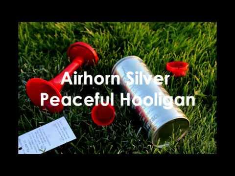 Peaceful Hooligan Airhorn Silver Ziga Zaga Test