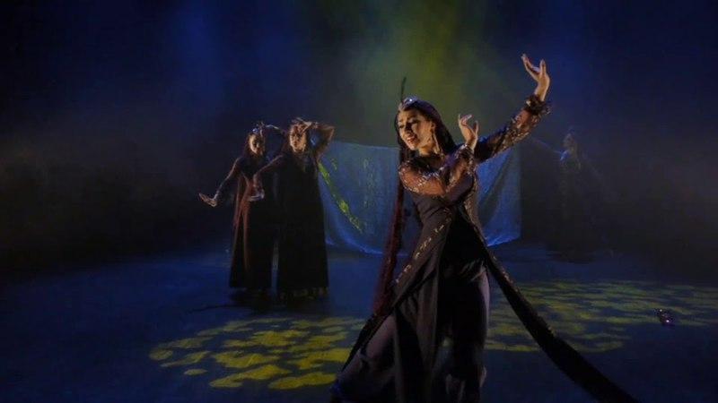 Armenian dance, Kathak Persian dance with Abrisham, at Layali Oriental Dance Festival Sweden 2011
