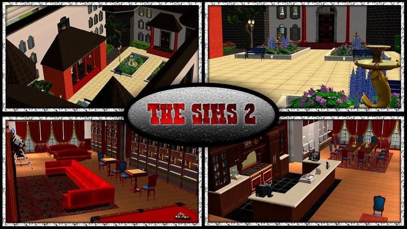 The Sims 2: Обставляем мебелью общежитие
