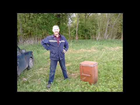 Установка ловушки для поимки роя пчел 2018