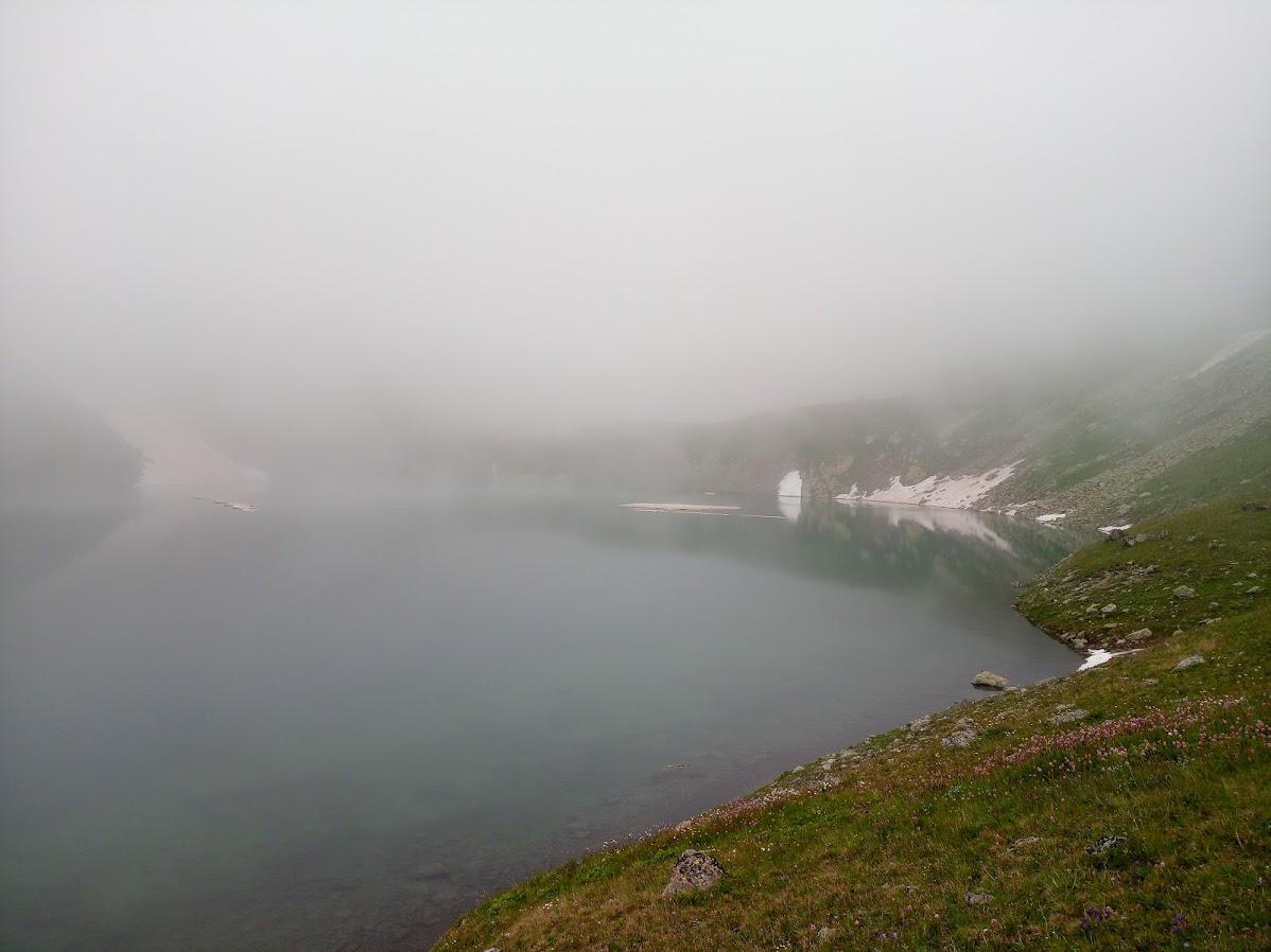 Транскавказ-2018. Туман-туманище.