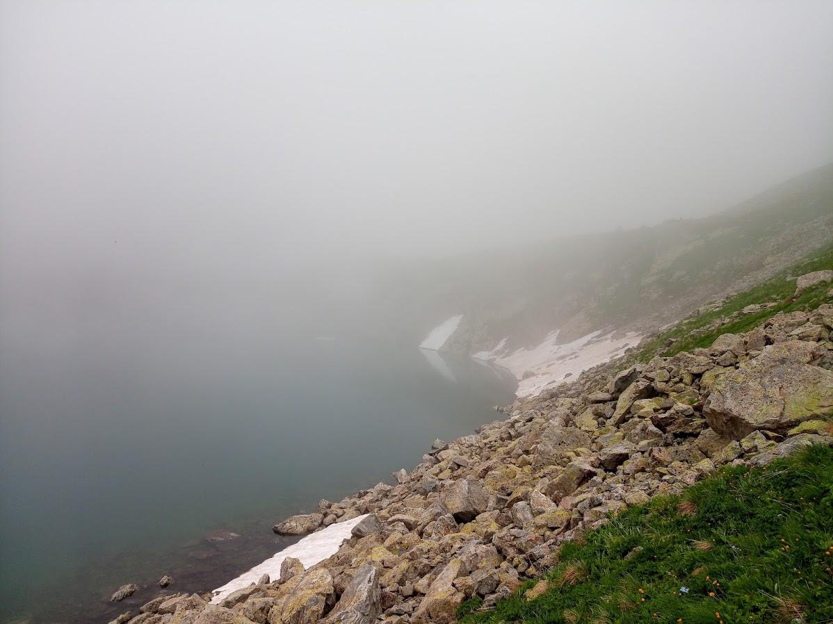 Транскавказ-2018. Туман-туманище. краснодарский край