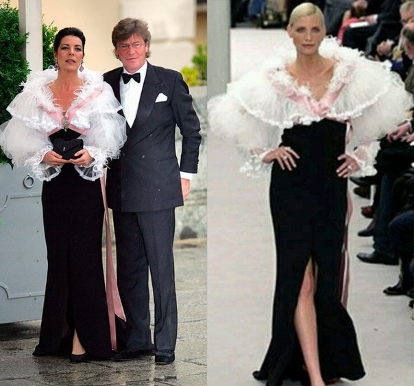 Преданная муза: 15 выходов в свет принцессы Монако Каролины в нарядах Chanel 23 января 62 года исполнилось дочери Грейс Келли и князя Монако Ренье - принцессе Каролине.Музами Chanel в свое время