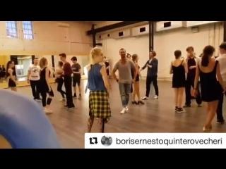 Танцуем ! Оуе! #bailenconborisquintero