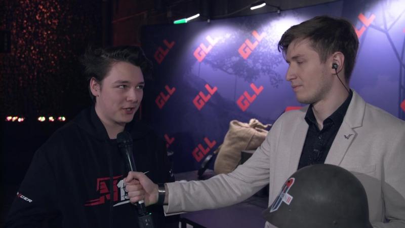 Интервью BatulinS после 14 матча GLL Season 2