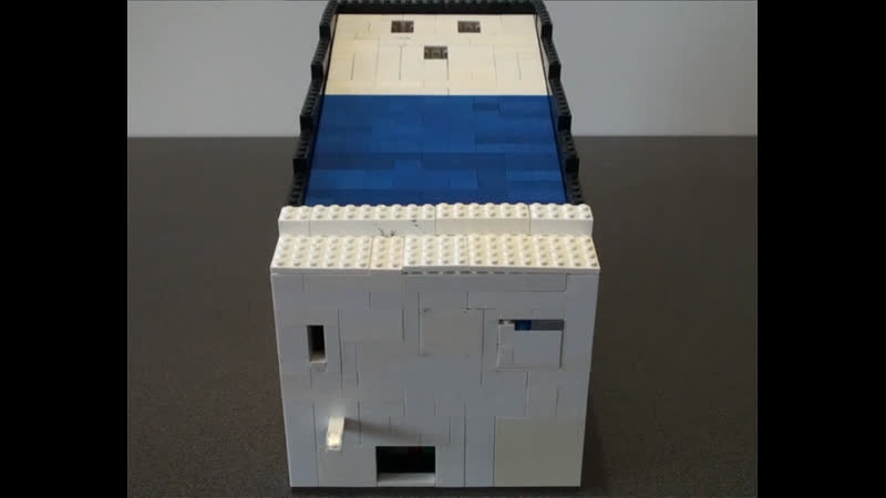 Автомат для игры в Скибол (Skee-Ball) (Самоделки из Лего - Lego)