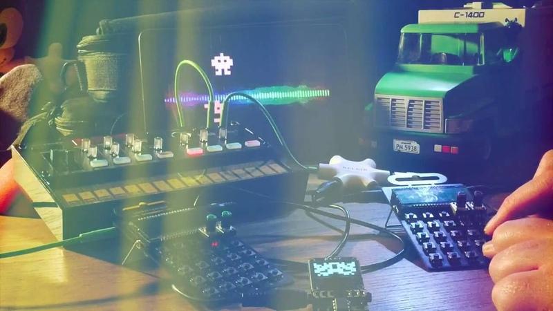 Quantum VJ, Korg Volca FM, Teenage Engineering PO-12, 20