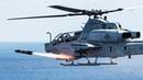 Sea Hawk Fires the AGM-114 Hellfire Missiles Aerial Gunnery [Training]