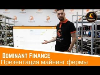 Обзор майнинг центра от директора компании Dominant Finance