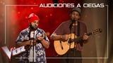 Шоу Голос Испания 2019. - Доминго Ондиз и Рой Борландс не зимней песней