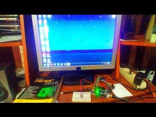 Arduino wire + Python + VBA + .bat ИК