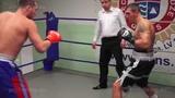 Olegs Fedotovs 76,6 kg. VS Dmitrijs Gavrilovs 77,0 kg. 10.12.2014 proboxing.eu