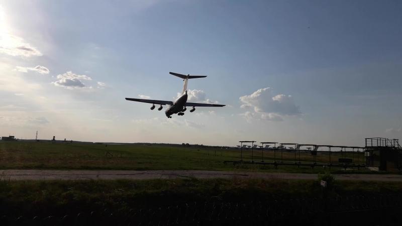 Аэродром Иваново-Северный, Посадка Ил-76 МД RF-76739