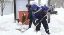 Москву замела вторая волна снегопада который будет продолжаться весь день Новости Первый канал
