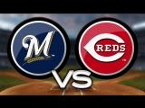 NL / 30.04.18 / MIL Brewers @ CIN Reds (1/3)