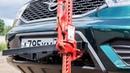 Как поднять внедорожник реечным домкратом Hi-Lift