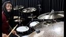 Dedê Silva Baterista da Anitta testando os novos Pratos Anatolian Cymbals