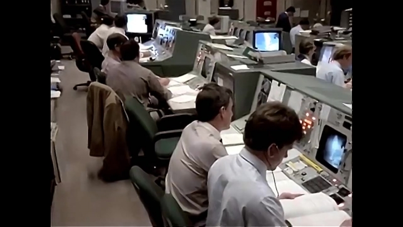Inside NASA Mission Control During The Space Shuttle Challenger STS 51L