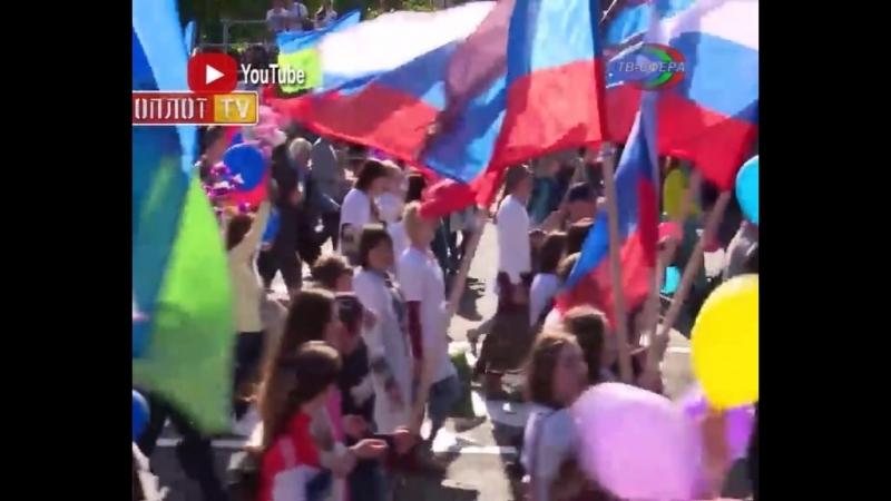 Харцызяне прошагали по Донецку