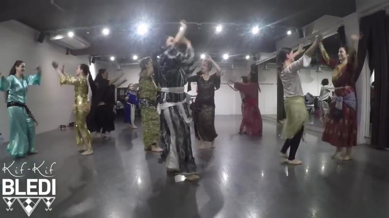 Stage de danse Chaabi marocain traditionnel avec Raïssa Leï