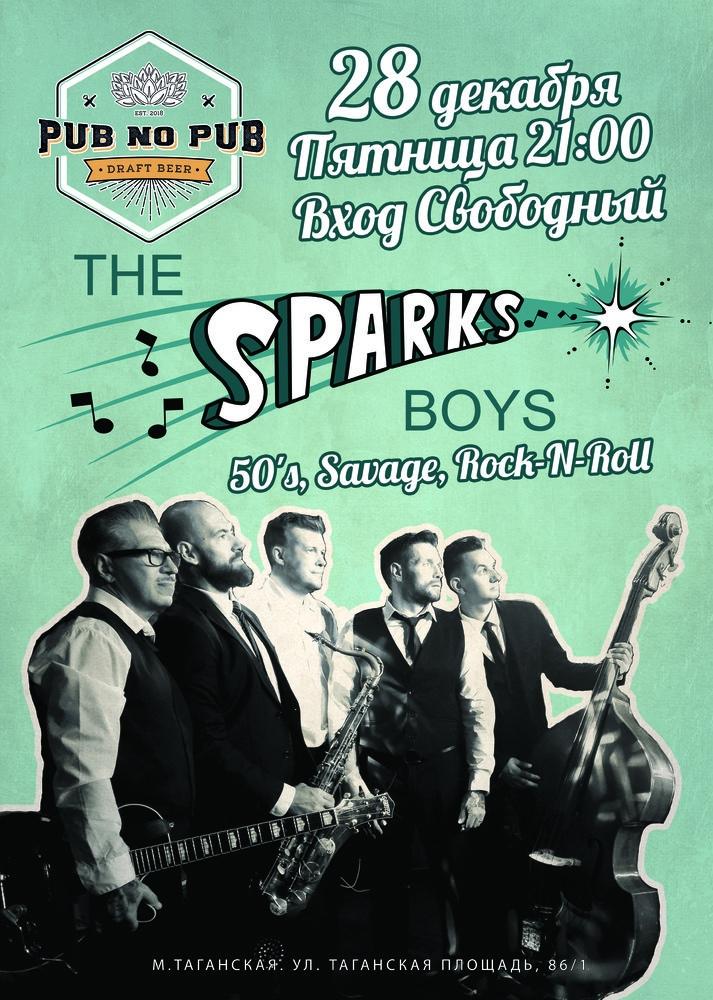 28.12 The Sparks Boys в Pub no Pub!