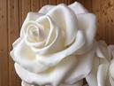 РОСТОВЫЕ ЦВЕТЫ мастер класс Настольная роза из изолона
