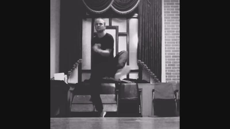 Микаэль hip hop practice